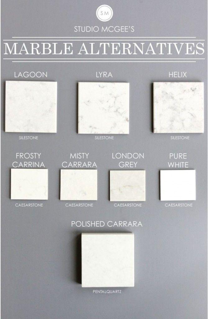 Carrara Marble Check Out 3 Look Alike Quartz