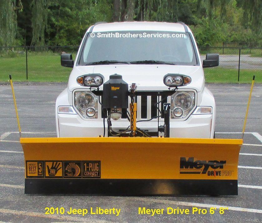 2010 Jeep Liberty Meyer Drive Pro 6' 8 Snow Plow Installs