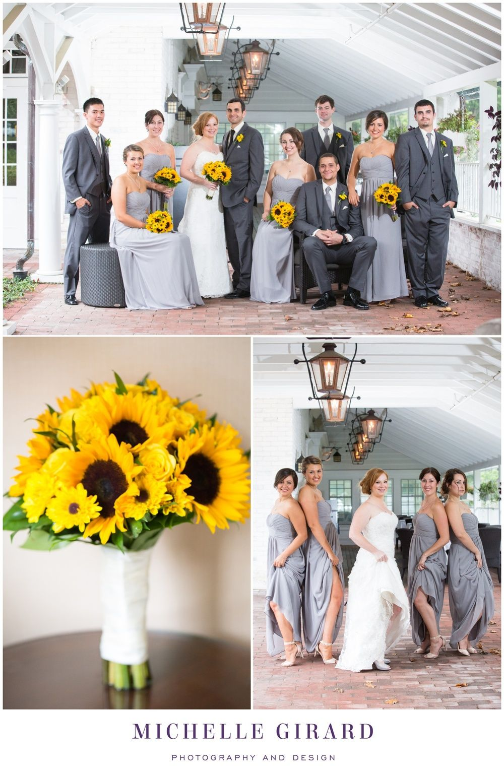 September wedding at the lord jeffery inn in amherst ma september wedding at the lord jeffery inn in amherst ma sunflower details emma and jason gray bridesmaid dressesgray ombrellifo Image collections