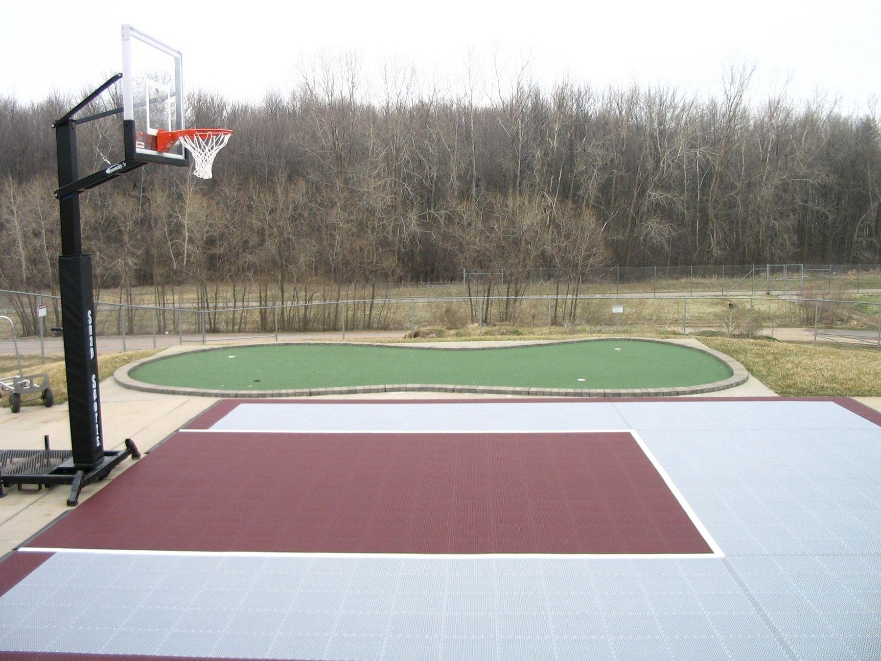 snapsports awesome backyard basketball court www snapsports