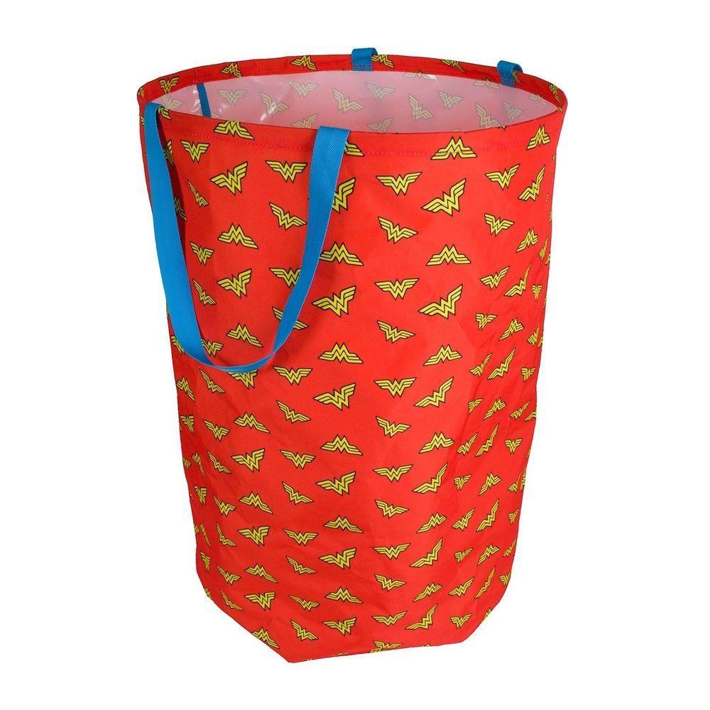 Wonder Woman Laundry Hamper Clothes Hamper For Closet Bedroom