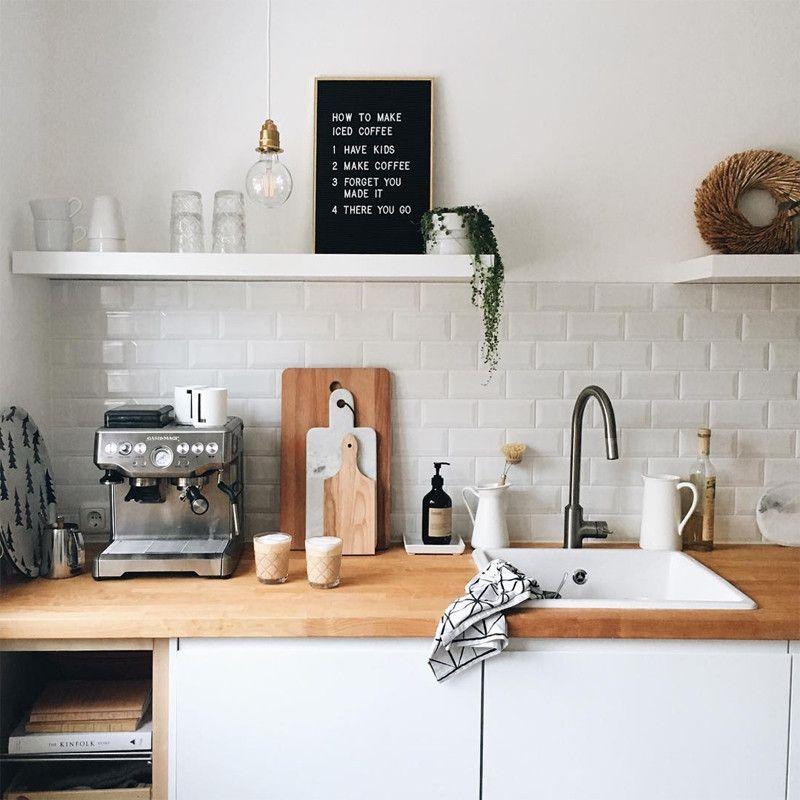 Letter board love  papermash ikea kitchen decor ideas house rooms also pinterest rh
