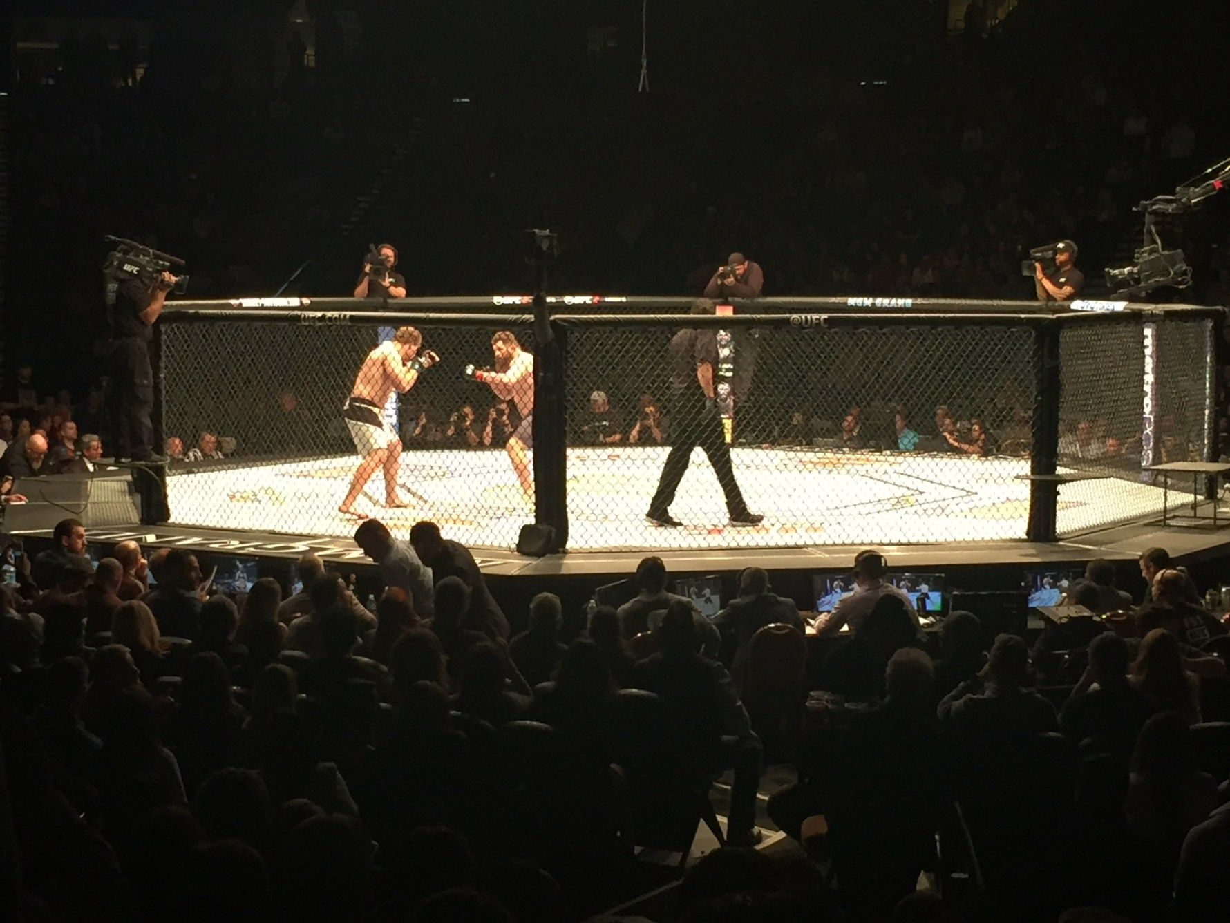 UFC MGM Grand Garden Arena Make The Weekend