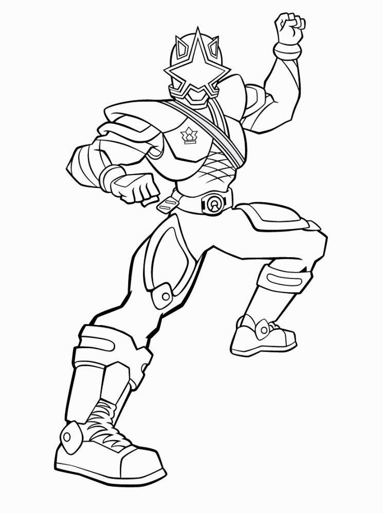 Power Rangers Samurai Coloring Pages Power rangers