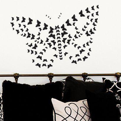 DCWV Butterflies Wall Decal