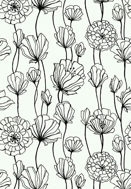 Arterapiaadult Flowers Coloring Book Pagesmore Pins Like This At