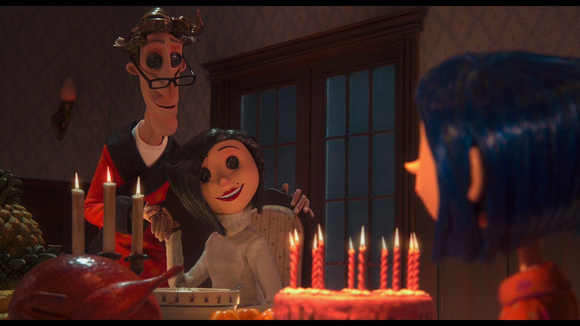Coraline Blu Ray Teri Hatcher Dakota Fanning Coraline Movie Coraline Coraline Jones