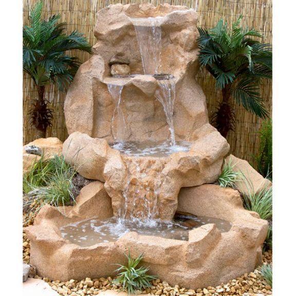 2f34bb19b4a Como hacer cascadas artificiales - Imagui Fuentes Pequeñas