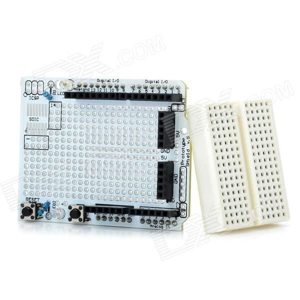 Prototyping Shield Protoshield Mini Breadboard For Arduino Works With Official Arduino Boards Model Arduino Prototyping Shield Pro Remont Stroitelstvo Idei