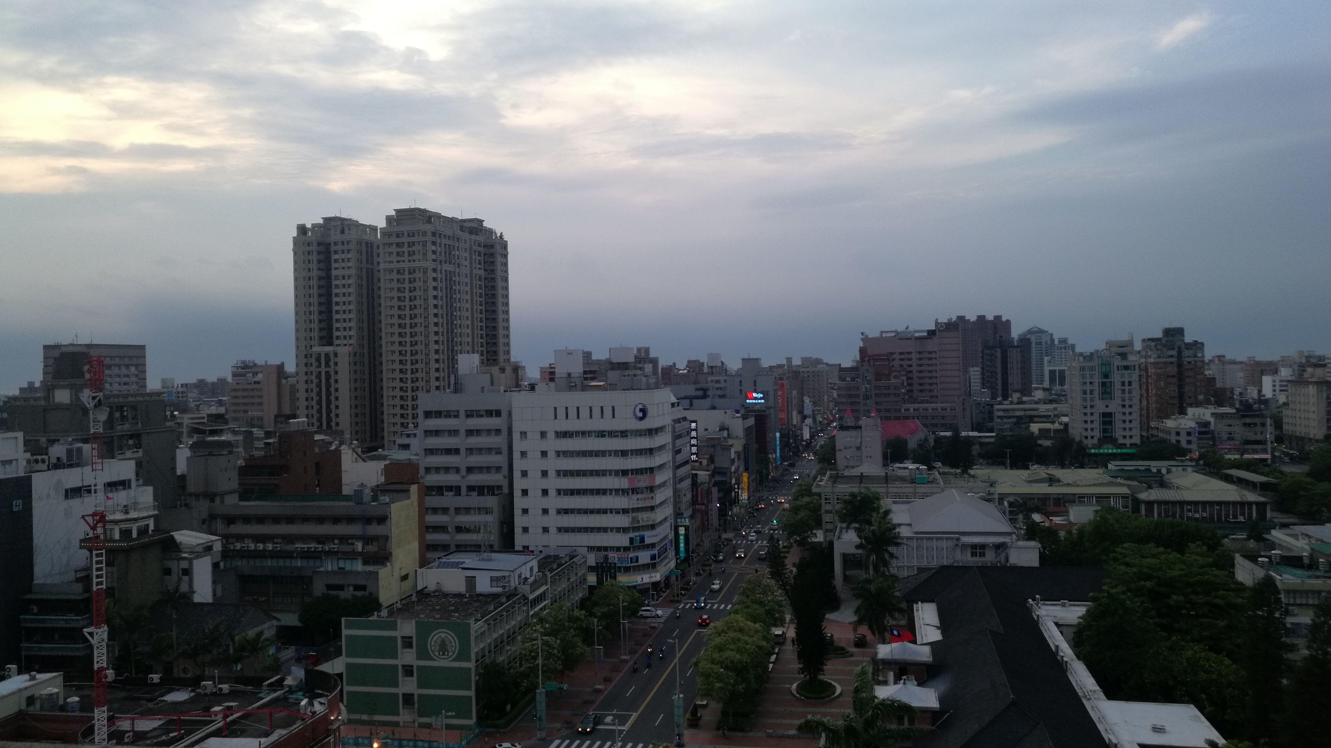 La selva de cemento de Hsinchu