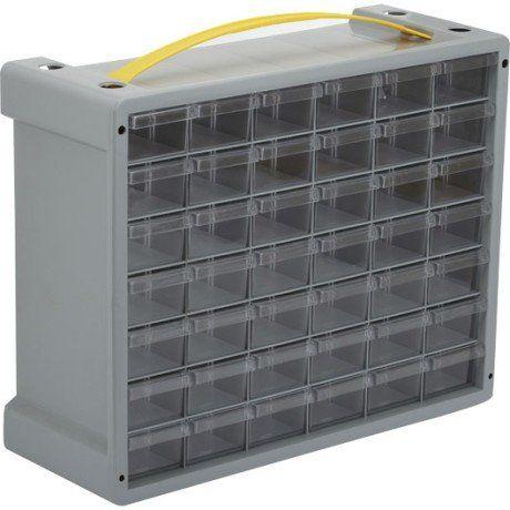 Casier A Vis En Plastique 42 Tiroirs Haut 32 5 X Larg 40 5 X Prof 15 Cm Rangement Plastique Casier Rangement Et Rangement Vis
