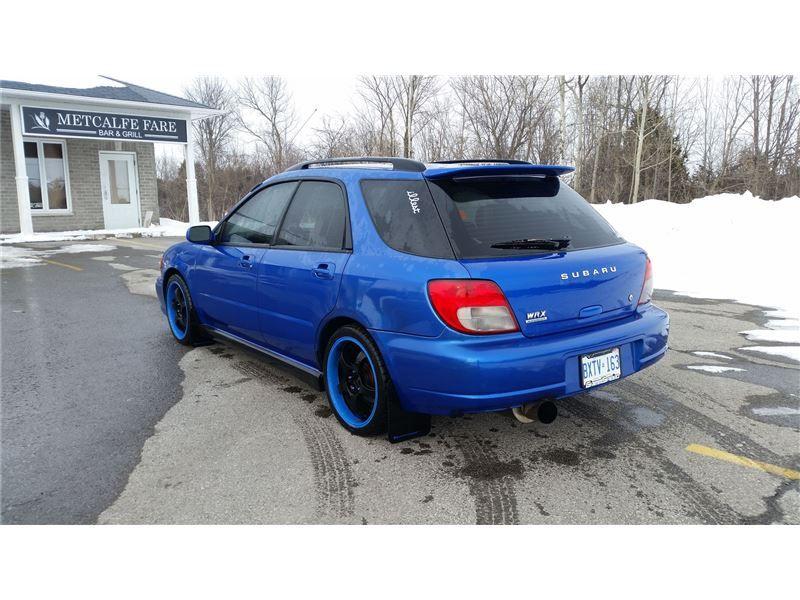 Car 2003 Subaru Impreza Wrx Wagon In Metcalfe On 7 500 Wrx Wagon Subaru Impreza Subaru Impreza Sport
