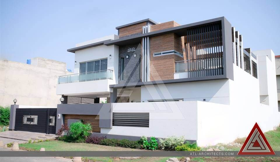 Location izmir town lahore size 1 kanal project by atl for Modern house design pakistan