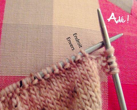 tricoter les mailles comme elles se pr sentent tricot. Black Bedroom Furniture Sets. Home Design Ideas