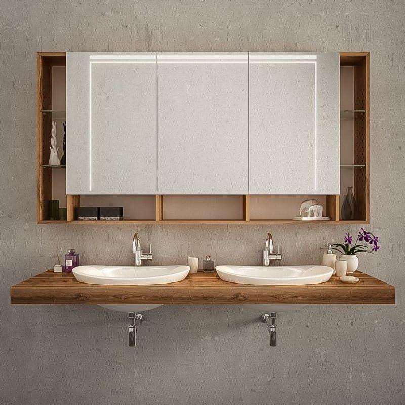 Badezimmerspiegelschrank mit Beleuchtung kaufen ...