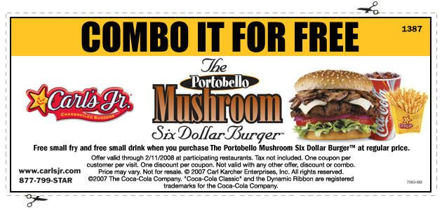 photograph about Carls Jr Coupons Printable identified as no cost Carls Jr. coupon codes printable for June Coupon Photographs