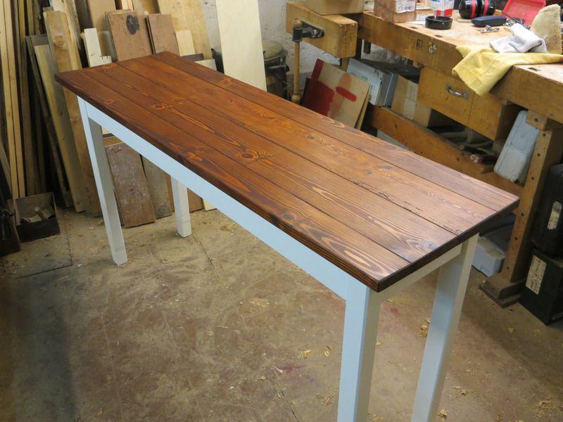 Tisch, Arbeitstisch, Küchentisch, Altholz,Shabby von VollesHolz auf ...