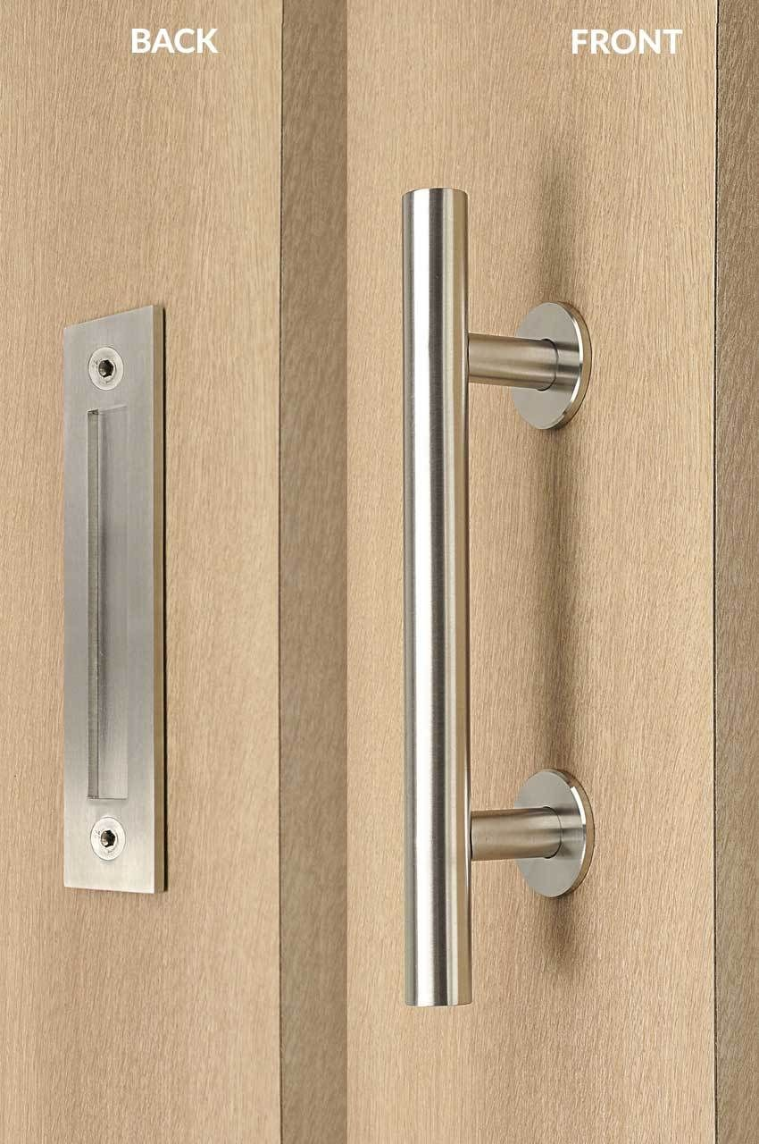 flush door pulls. strongar hardware - pull and flush door handle set (satin finish), $130.00 ( pulls s