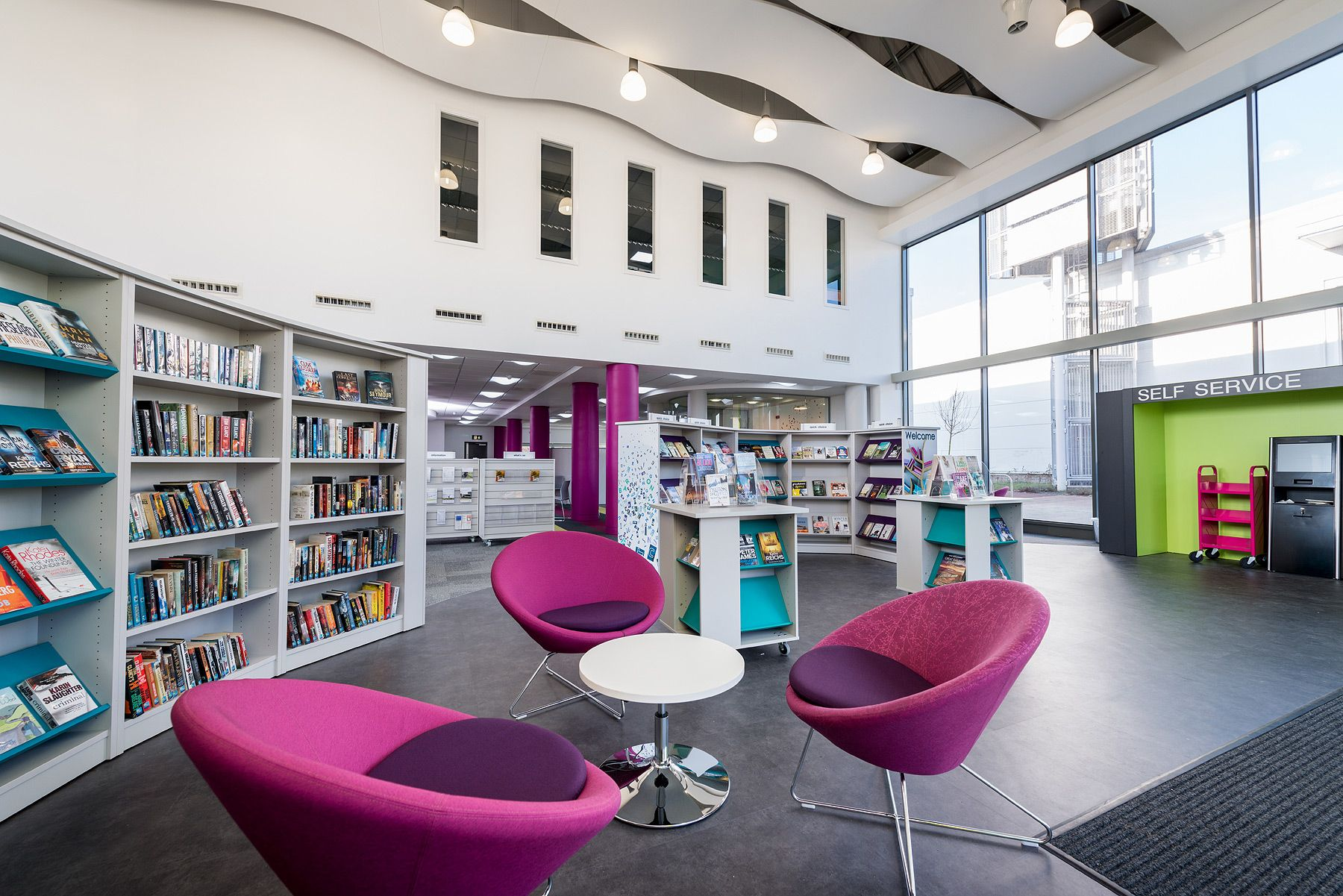 Kingston Library Milton Keynes Uk With Images Library Design