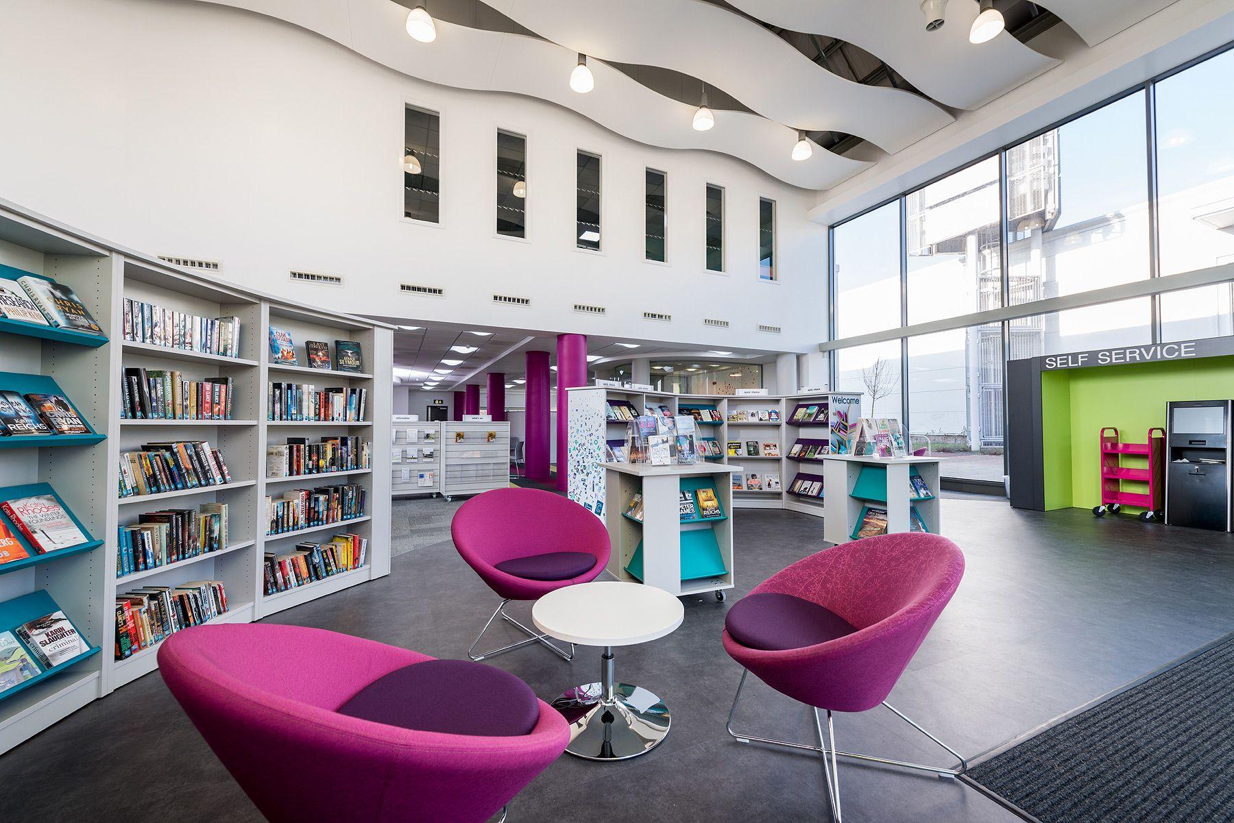 Kingston Library Milton Keynes UK