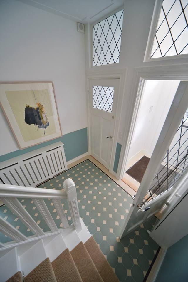 flooring sunny entryway with winckelmans tiles winckelmans tiles pinterest octogone. Black Bedroom Furniture Sets. Home Design Ideas