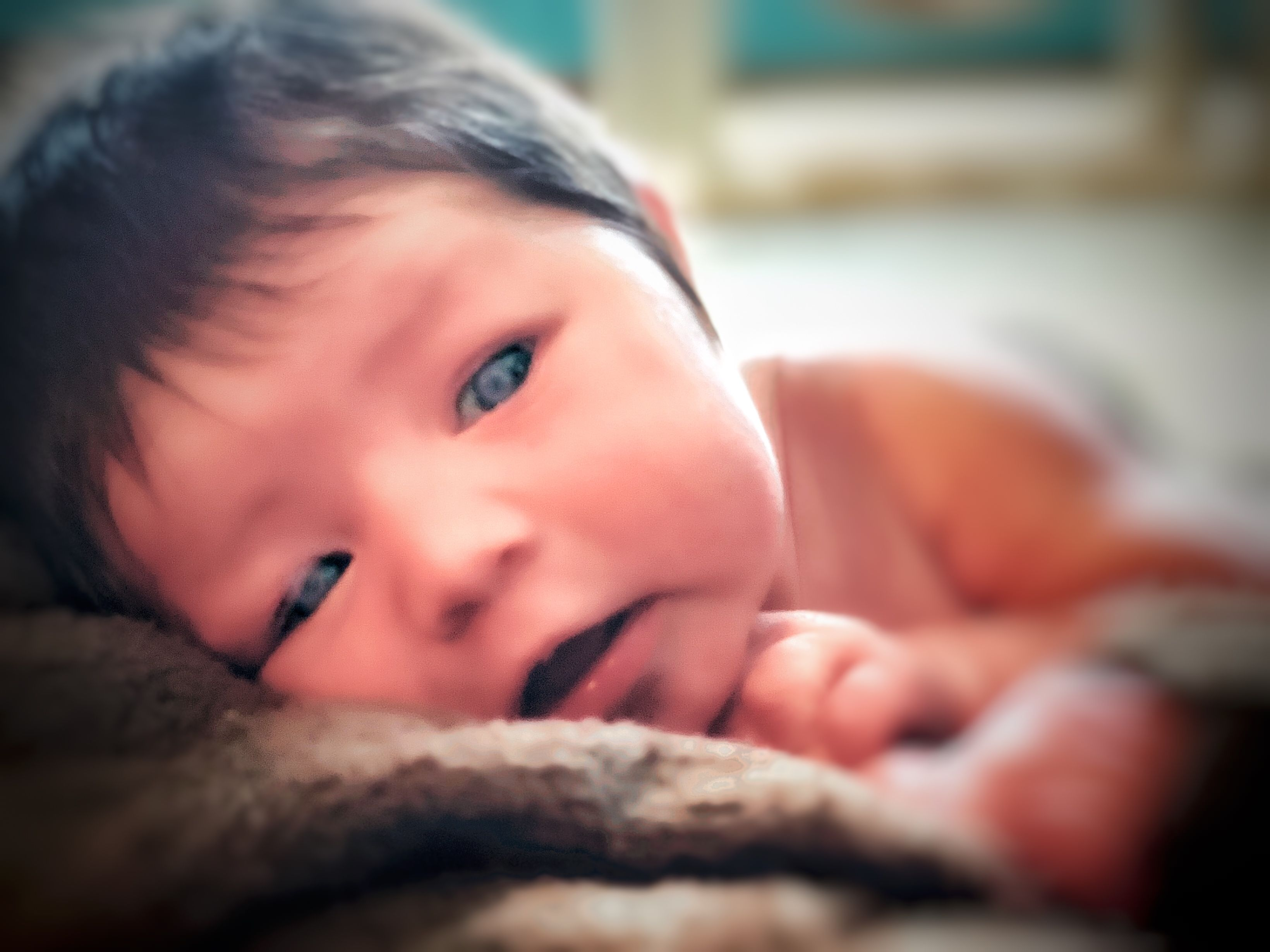 Iphone X Newborn Photography
