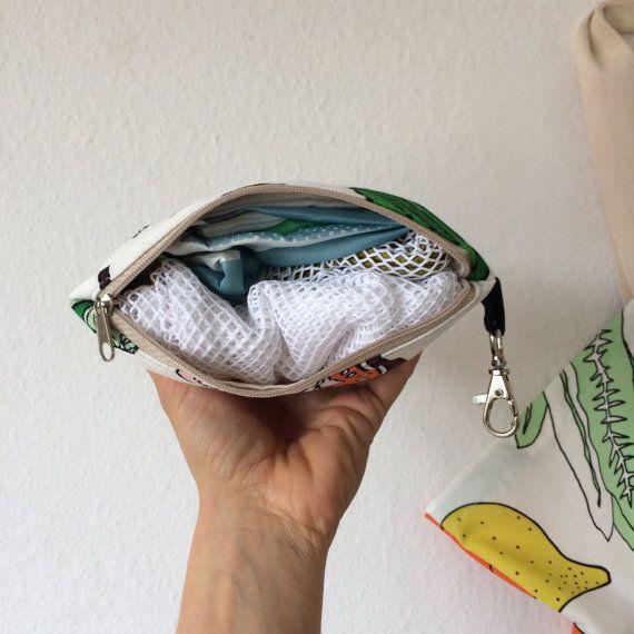 Vegan Zero Waste Shopping Kit Pick a Design by BagMeFrankfurt