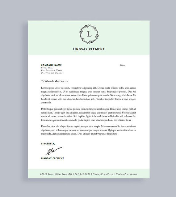 Printable Blank Resume Brilliant Professional Resume Template And Cover Letter For Word And Pages .