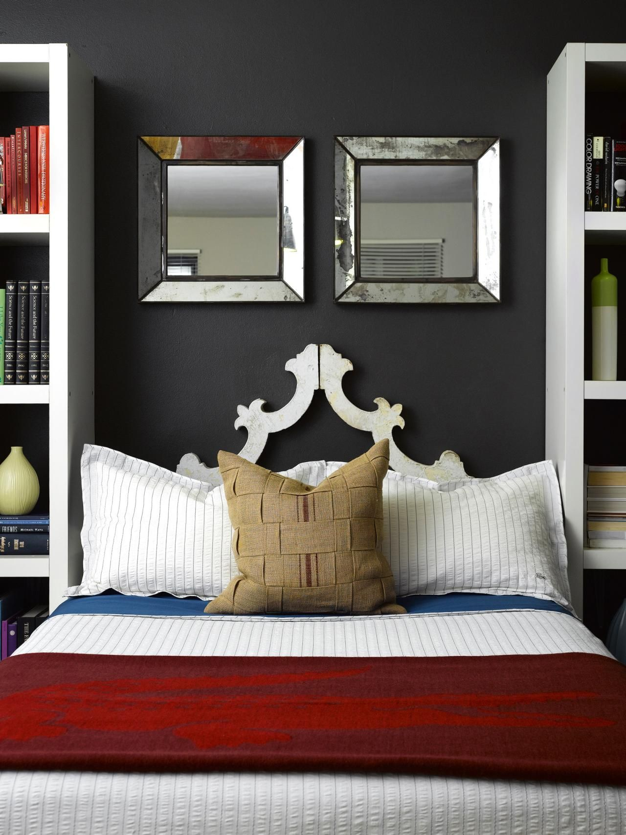 decorating with mirrors - Bedroom Decorative Accessories