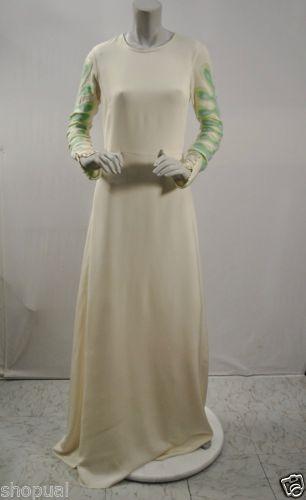 NOVIS The Marion Beaded Long Sleeve Gown NWT sz 6 Ivory A-Line Silk Dress $2995 https://t.co/TpQoxRdmHW https://t.co/PzR9UMRXDM