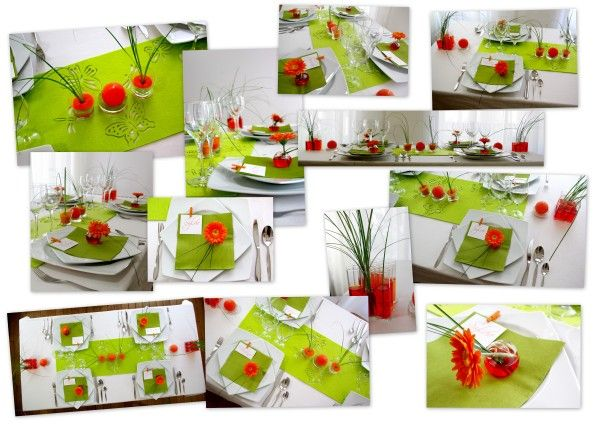 D co de table de printemps deco fleurs - Decoration table printemps ...