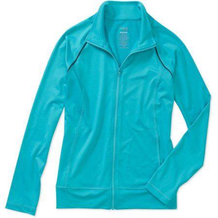 Danskin Now Women's Performance Jacket, Size: Small, Blue