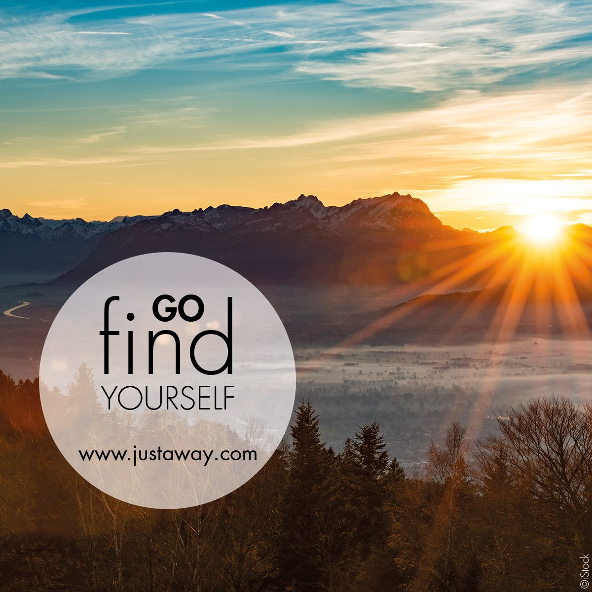 #justaway #travel #quote #sun #mountains #hiking