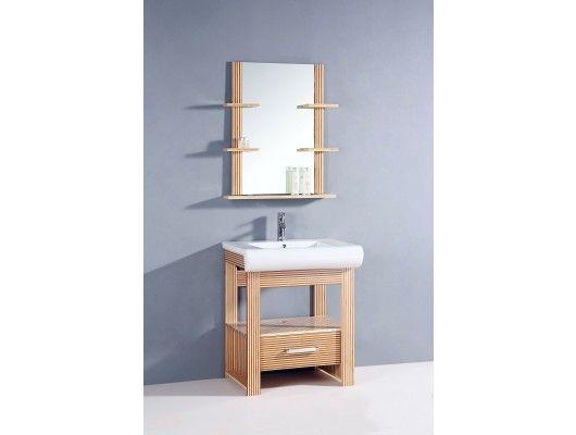 "28.5"" Bamboo Single Bathroom Vanity w/ Mirrorhttp://www.maxfurniture.com/bathroom/single-vanities/28-5-wt-series-bamboo-single-bathroom-vanity-w-mirror-by-legion-furniture.html #furniture #decor #vanity"