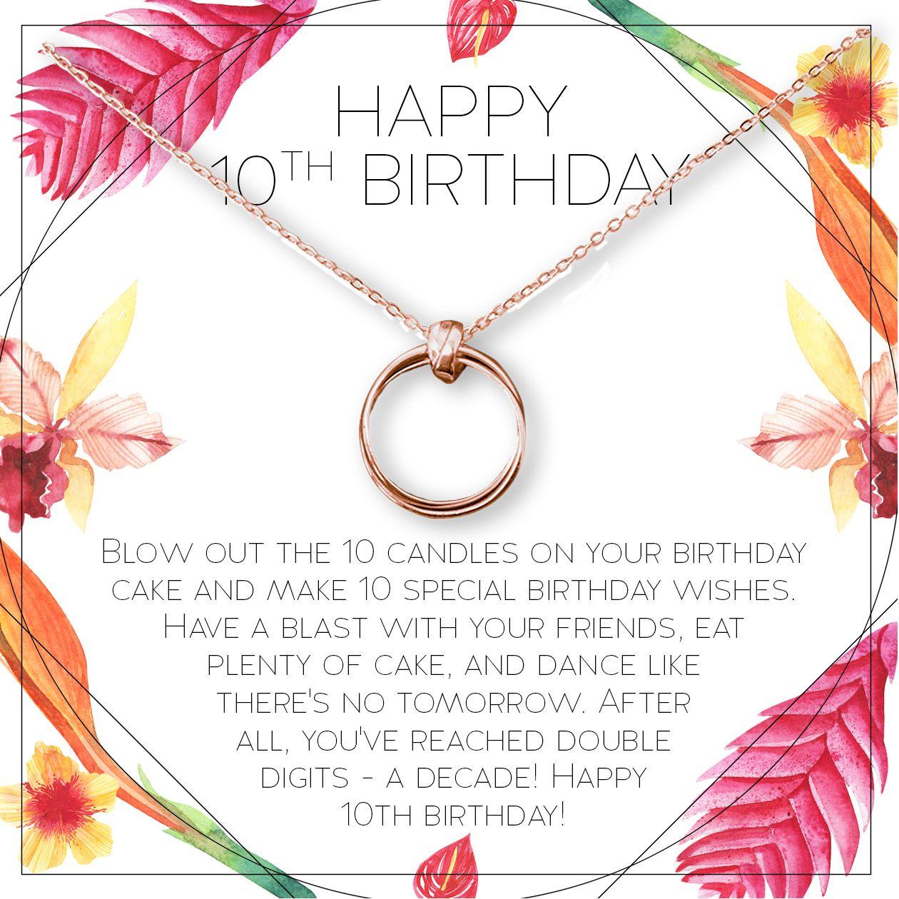 Pin on 10th Birthday Gift