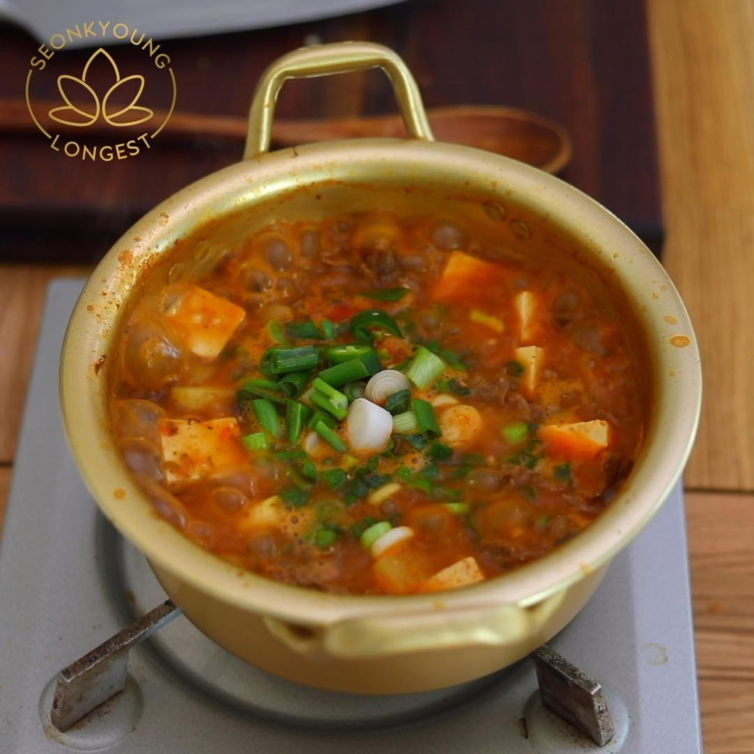 Chadol Doenjang | Korean Beef Brisket Soup