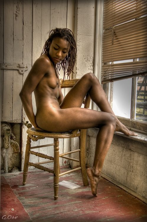 Professional black woman nude