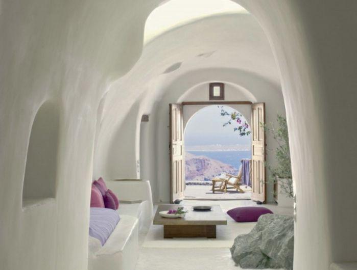 1001 photos inspirantes pour une d coration grecque d co d 39 int rieur d coration grecque. Black Bedroom Furniture Sets. Home Design Ideas