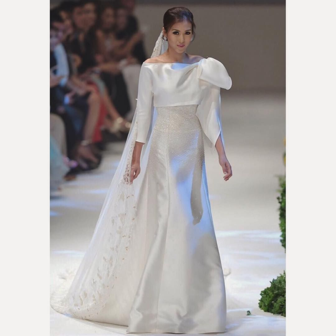 """Rajo Laurel Wedding Gowns: Alex Gonzaga On Instagram: """"I May Be Single But Yesterday"""