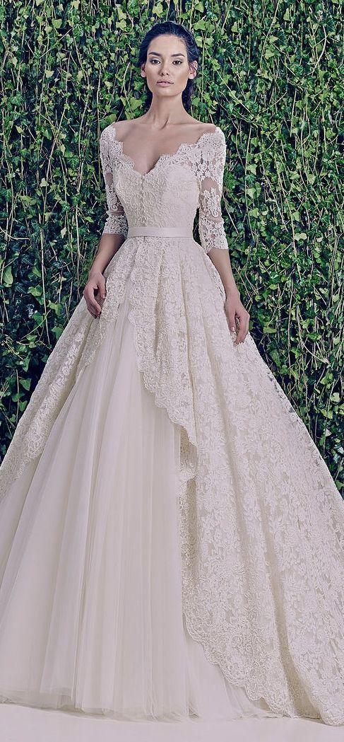Gaun pengantin unik