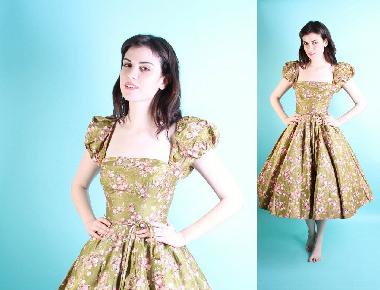 1950s cocktail dress | Neither too short nor too long; just right ...