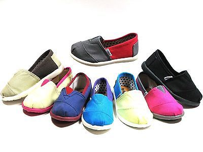 Slip-On-Flats-For-Baby-Toddler-Girls-Or-Boys-Canvas-Shoes-Sizes-5-10-8-Colors