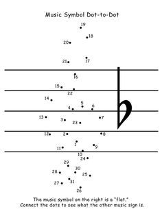 Free download! Treble clef dot-to-dot. Fun and helpful for ...