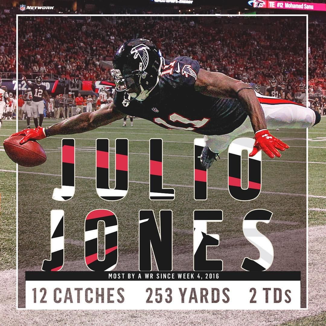 8 995 Likes 44 Comments Nfl Network Nflnetwork On Instagram The Jet Took Off Today Don T Miss Juliojone Nfl Network Falcons Fan Falcons Rise Up