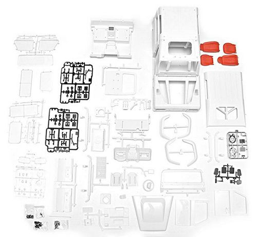 Xtra Speed D90 Hard Plastic Body Kit For 1/10 Crawler #XS