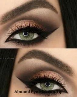 6 eye makeup for almond eyes in 2020  almond eye makeup
