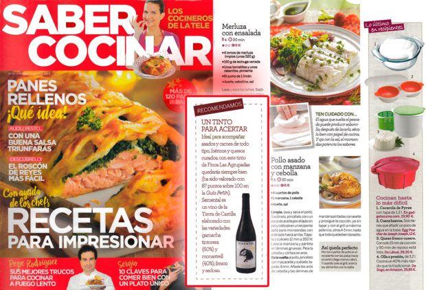 Revista Saber Cocinar   Saber Cocinar De Tve Recomienda Nuestro Vino Semental Las
