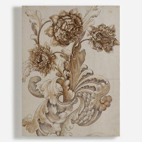 'Efflorescent' Canvas