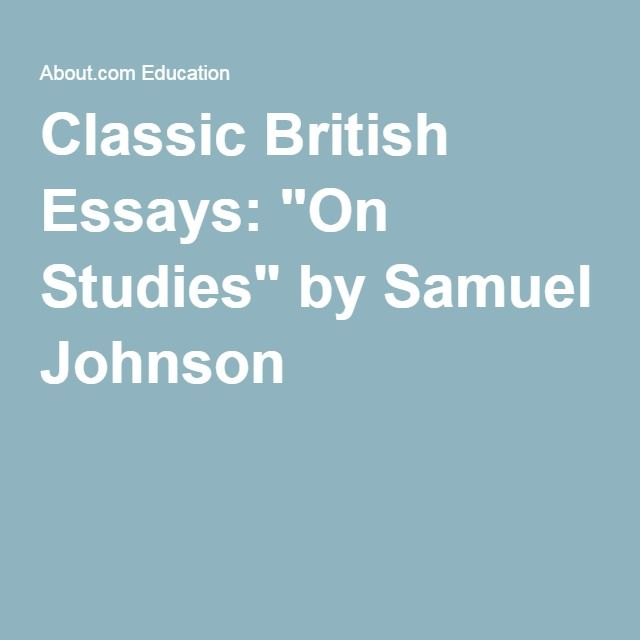 Franci Bacon On Youth And Age Essay Samuel Johnson Teaching Tools Essays