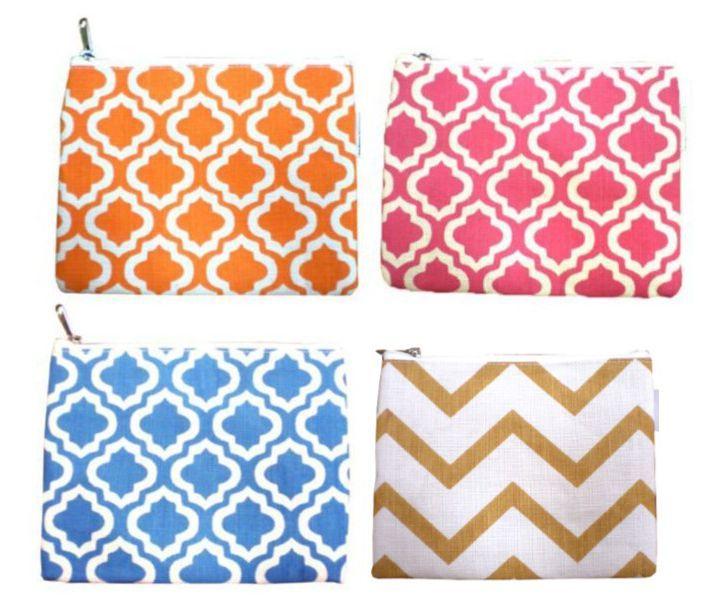 Burlap COS BAGS $7 {+ $5 for monogram} www.havenexclusives.com